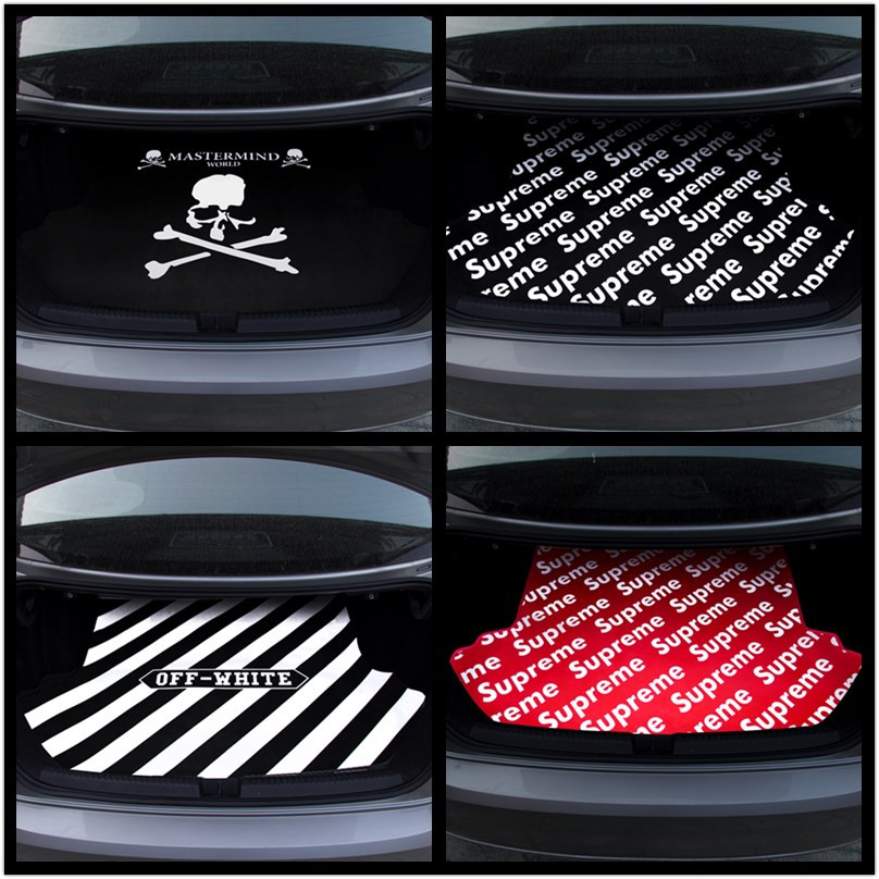 潮牌个性汽车后备箱垫专车专用可水洗易打理定制大众奔驰宝马奥迪