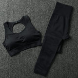 Yoga suit female slimming high skin close-fitting thin and quick-drying stretch running fitness dance training sportswear