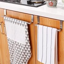 免打孔毛巾杆不锈钢卫生间置物架单杆双杆毛巾架浴室挂件浴巾架