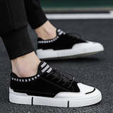 2019 new men's casual shoes shoes canvas tide shoes spring summer shoes male Korean version of the trend of men's shoes wild