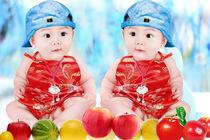 光身婴儿照片露鸟宝宝海报胖娃娃图片贴画墙贴早教男宝画报包邮