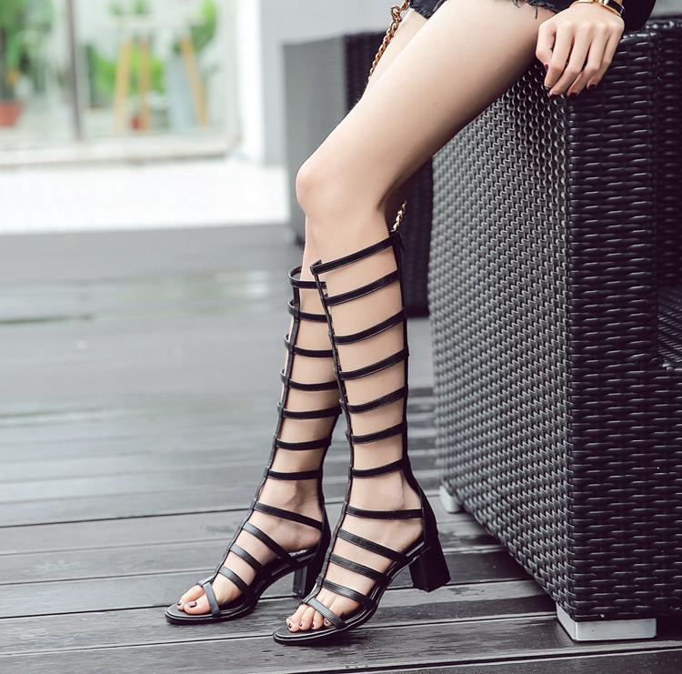 罗马鱼嘴靴子