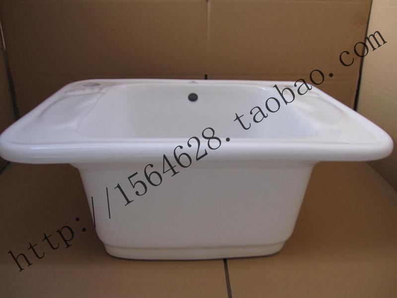 正品桑拿足浴洗脚盆陶瓷泡脚盆陶瓷洗脚盆足浴盆长方形圆形可选