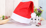 Adult child christmas hat santa hat red hat holiday supplies