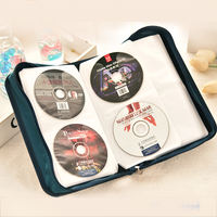 Oversized CD storage bag 128 pieces of mercerized cloth CD case CD package home VCD Blu-ray disc storage box