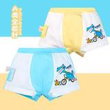 Cotton children's underwear boys cotton boxer baby boy cartoon four-corner triangle shorts 1-3-5-7-9 years old