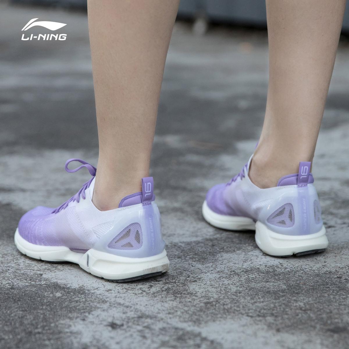 李宁女鞋跑步鞋2019夏季新款超轻16代跑鞋网面透气正品春季运动鞋