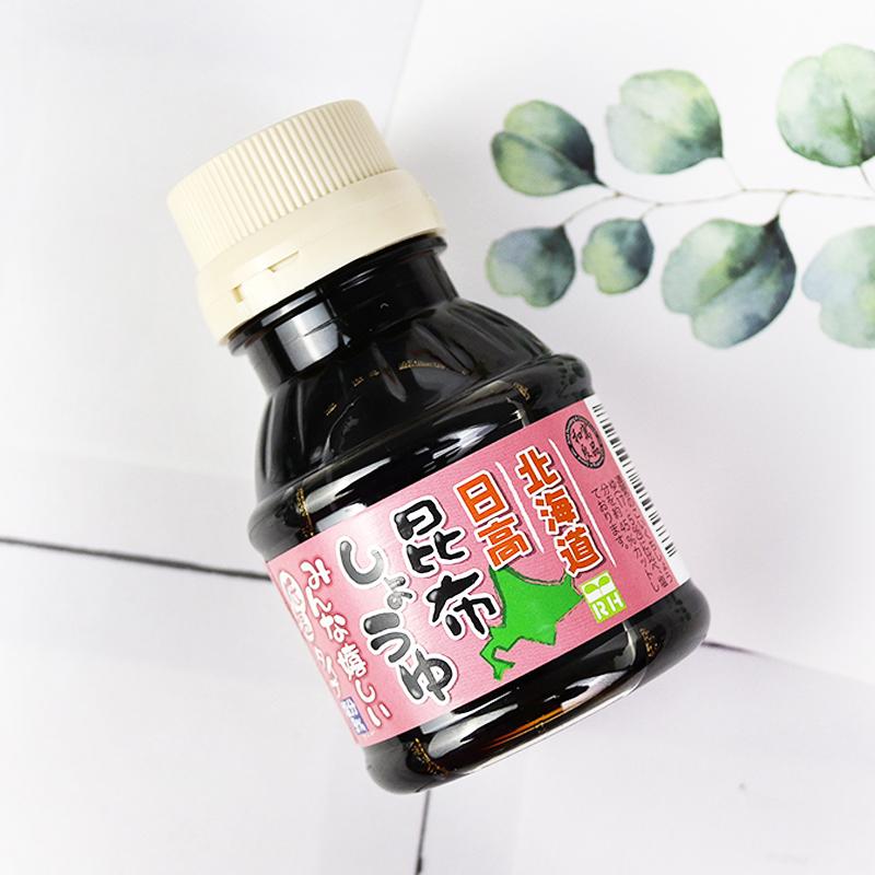 日本进口良品昆布儿童宝宝酱油无婴幼儿辅食添加海带减盐调味拌饭