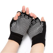 Women's Yoga Supplies Professional Slip Sports Lotion Five Fingers Four Seasons Yoga Gloves Women