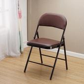 简约培训折叠椅电脑椅休闲便携塑料椅子折叠凳子 加固办公椅子时尚