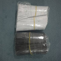 Grape ties, galvanized iron core tie, electrical table lamp wire, wire 2.4*100mm, 7 yuan, 1000 pieces/package