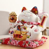 Lucky cat decoration large piggy bank home electric rocking hand wealth cat shop opening gift piggy bank