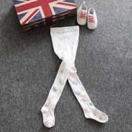 婴幼儿女孩12-24个月连脚袜中大童女2-10岁休闲贴身弹力连裤袜子