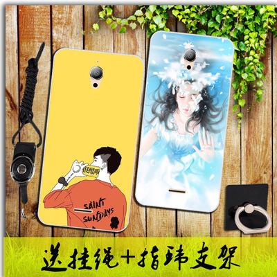 中国移动m812手机壳m812c保护套卡通个性防摔硅胶全包软壳女款潮