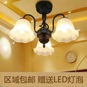 餐厅欧式吊灯客厅北欧简约现代灯具创意个性灯美式吸顶卧室小吊灯