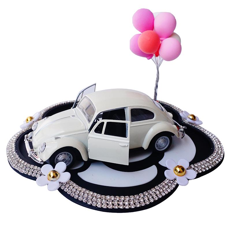 可爱卡通车模型老爷车创意汽车摆件车上中控台车载车内装饰车饰女