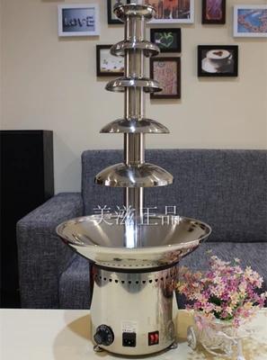 巧乐滋喷泉机 五层商用巧克力喷泉机 ANT-8086 / 火锅瀑布机 包邮