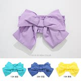 Children's bow girdle hair band dual-use cute sweet kimono belt cute baby girl baby travel with