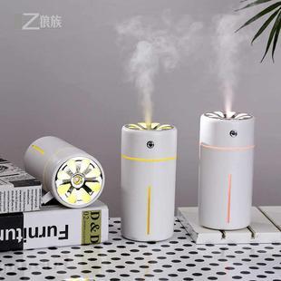 瘋搶 智能提醒迷你空氣加濕器 超聲波靜音三合一