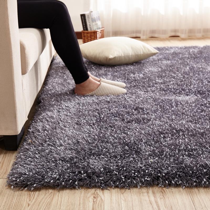 长毛地毯厚