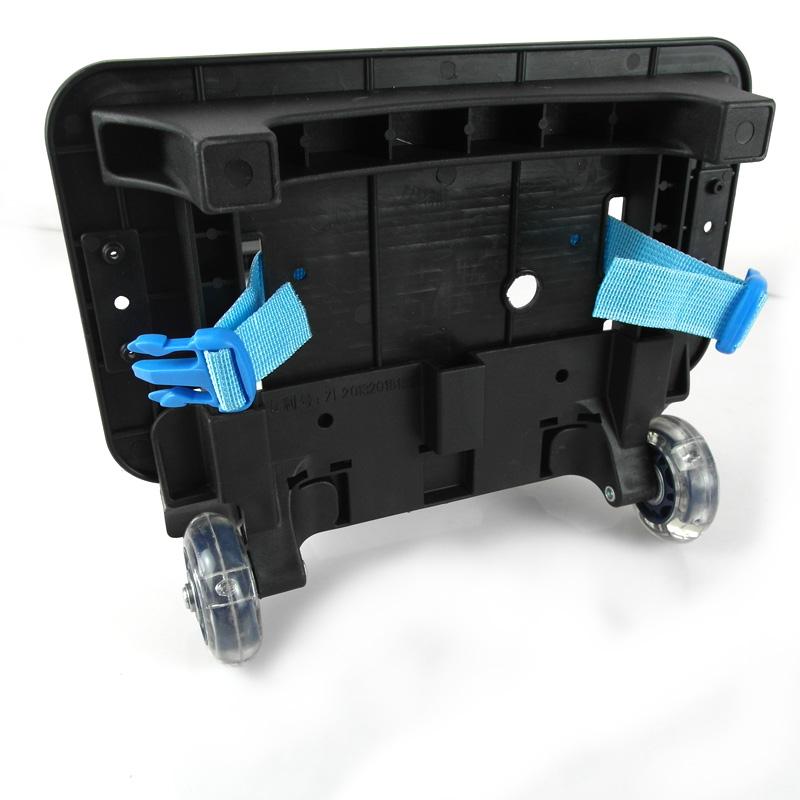 小学生书包拉杆车架男女1-3-6年级单独配件儿童手拉车托架闪光轮