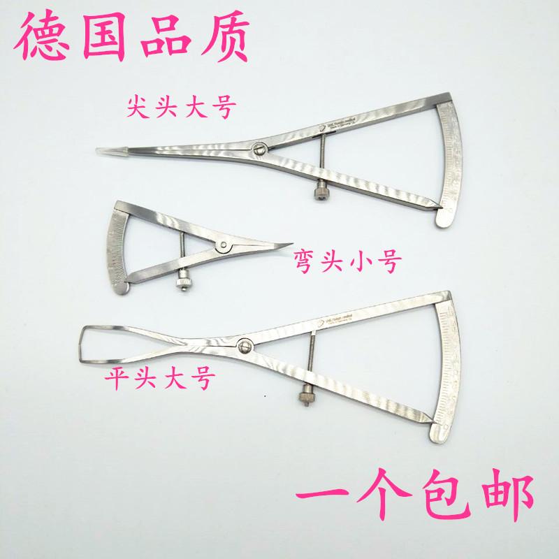 进口种植牙工具 诺骨测量尺 种植专用卡尺 骨脊厚度测量尺测量尺