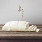 雅西亚95白鹅绒枕头羽绒枕芯单人柔软护颈枕成人五星级酒店枕头图片