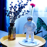 Astronaut ceramic vase ornaments living room flowers ins home Nordic astronauts pose vases creative