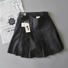 American and European Half-length Skirt Female Students of ACFORAG Short Skirt in Spring and Summer 2018