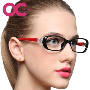 超轻OCSEE品牌高档优雅中小脸防蓝光疲劳高清老花镜 老花镜女时尚