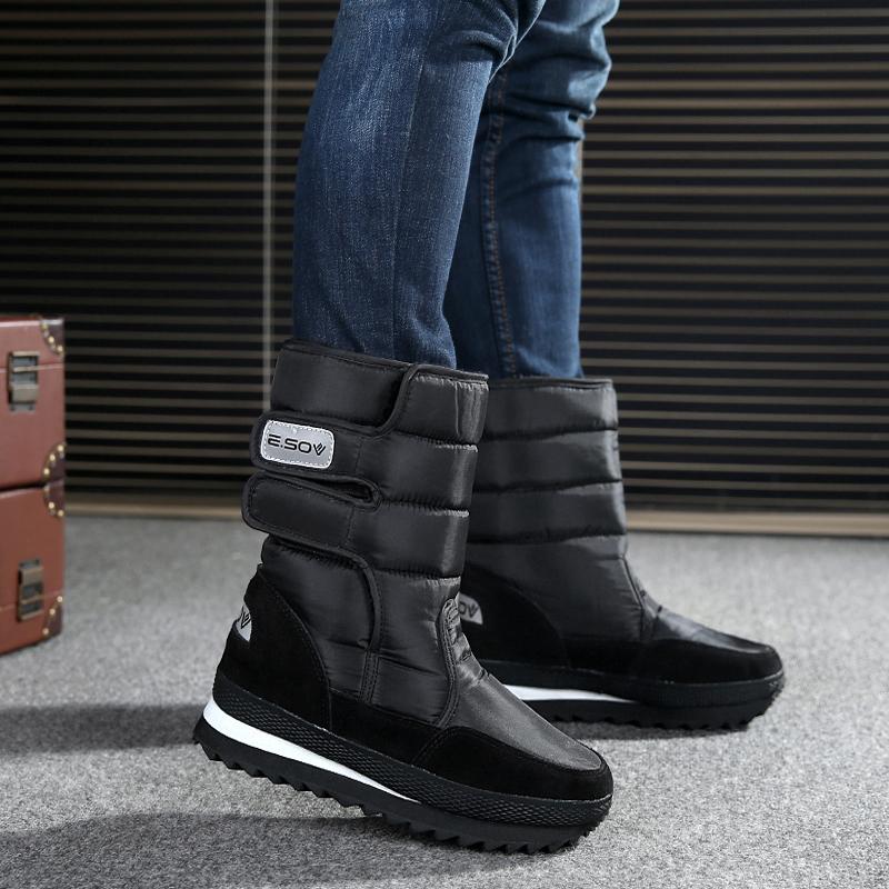 男筒靴冬季