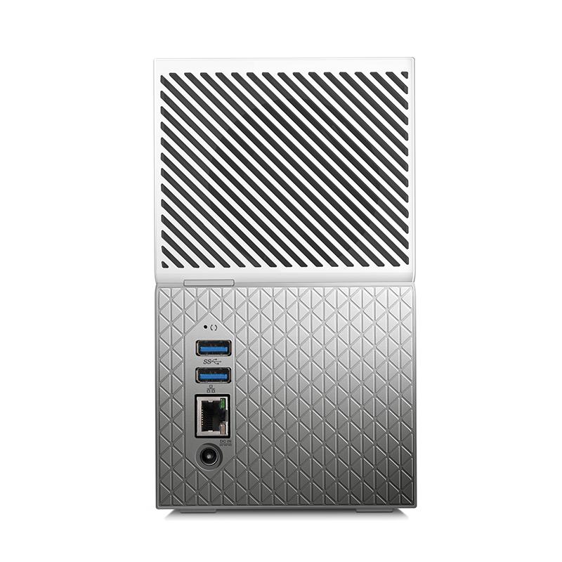 wd西部数据My Cloud Duo 8TB个人云网络存储 无线硬盘8t RAID管理
