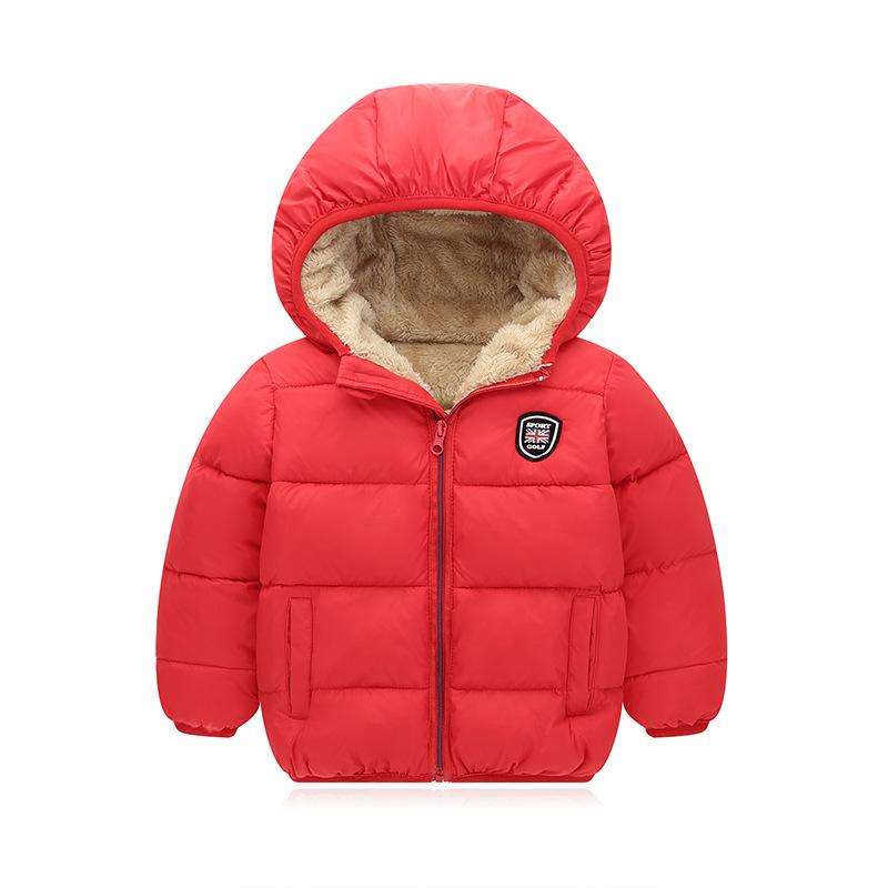 天天特价秋冬新款儿童羽绒棉服短款男女童中小童加厚连帽棉衣