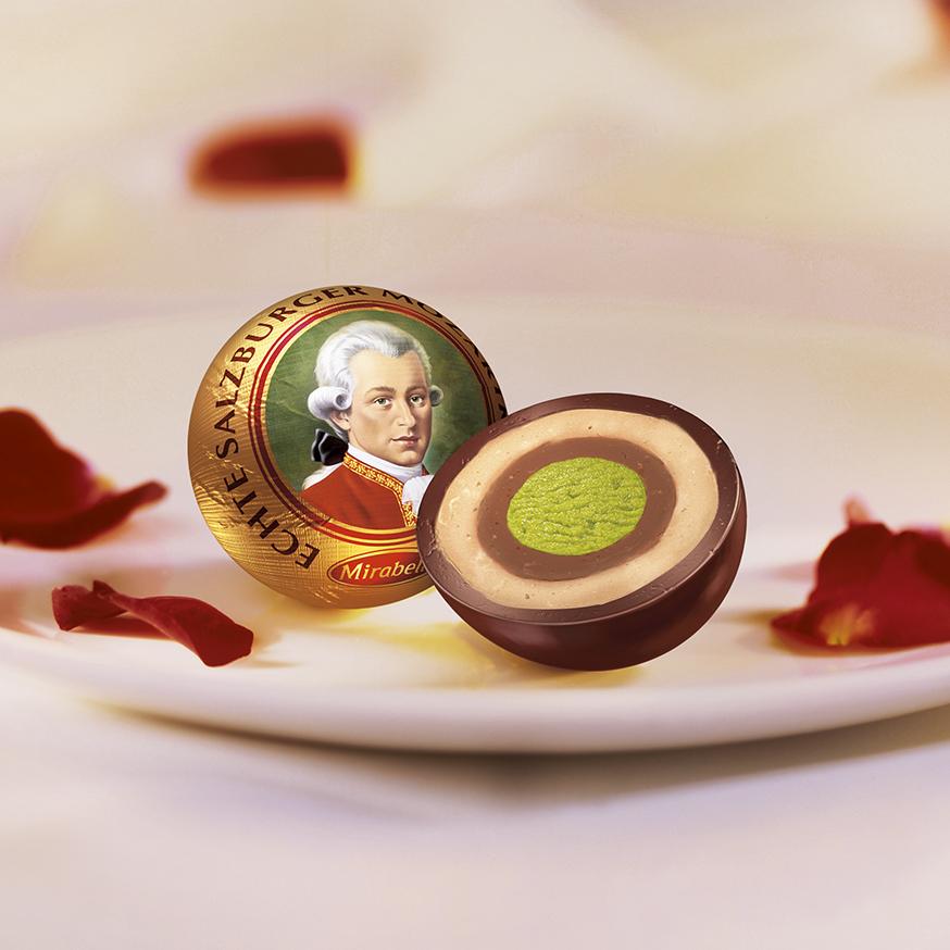 奥地利Mirabell莫扎特夹心巧克力球买10赠1高档喜糖可批
