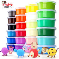 Winter has ultra light clay 24 color plasticine mud set safe non-toxic space mud girl handmade clay crystal