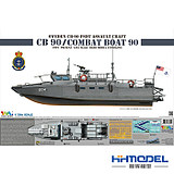 Henghui Model TIGER 6293 1/35 Swedish CB-90 Fast Attack Boat - Malaysia / Greece