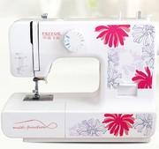 飞跃缝纫机FY510花家用缝纫机吃厚锁边电动多功能缝纫机