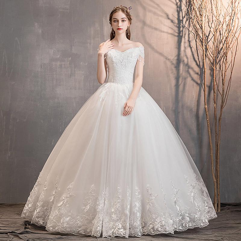 轩缘阁HS190408新娘礼服