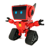 Mecole COCO sound and light robot toy children's electric educational toy bear out of fantasy space small iron