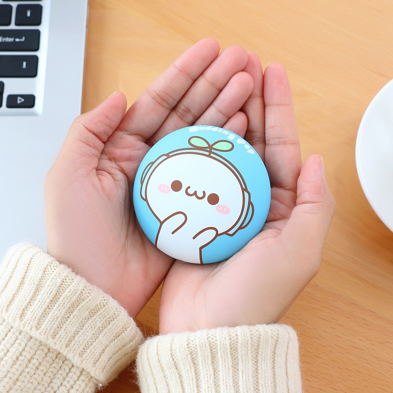 Usb charging treasure warm cake cartoon warm baby explosion-proof warm portable day Valentine