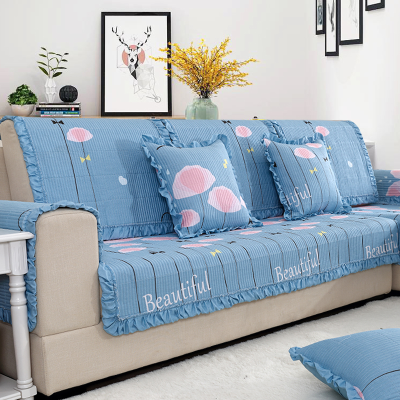 沙發墊布藝田園客廳
