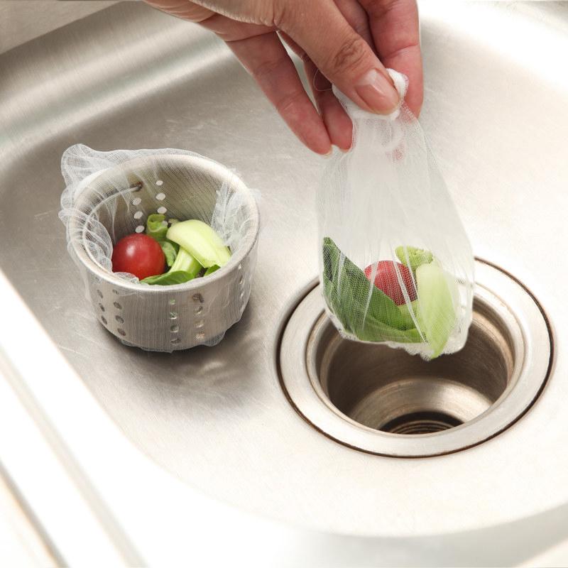 通用下水道过滤网厨房水槽过滤网洗菜池排水口过滤网袋水龙头地漏