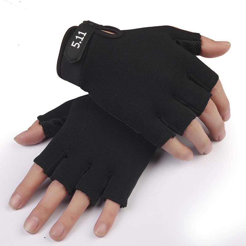 天天特價防滑透氣男士健身運動戰術半指騎行薄款防滑防曬春夏手套圖片