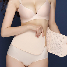 After delivery, laparotomy artifact with abdomen with female bondage with slimming body sculpting small belly Yinger with the same corset waist