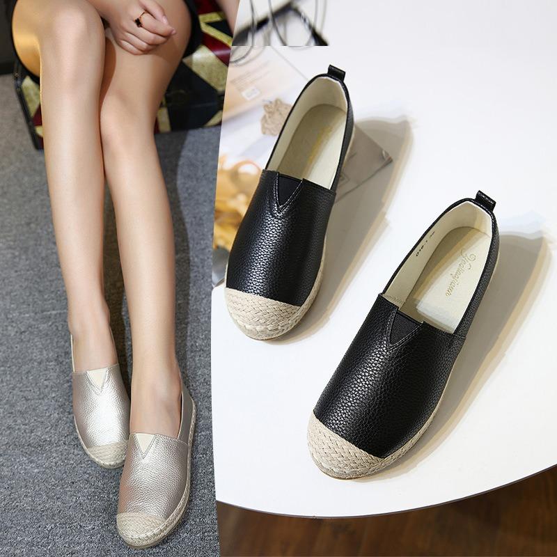 麻绳休闲防滑鞋
