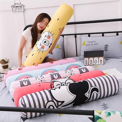 卧室长条抱枕圆柱形女孩睡觉抱枕大号可爱靠垫睡觉可拆洗卡通枕头