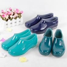 正品双钱时尚雨鞋女低帮短筒防水雨靴女防滑工作套鞋春夏水鞋特价