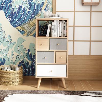 日式斗柜彩色收纳储物抽屉柜子北欧现代简约小户型卧室客厅五斗柜是什么牌子