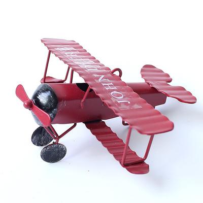 客厅铁艺小飞机模型装饰品摆件复古创意工艺品卧室家居饰品办公室是什么档次