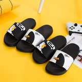 Parent slippercartoon cute summer children's slippers anti-slip home boys and girls baby bath slippersoft bottom